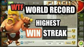 😱Highest war win streak|| clash of clans||in hindi||mysterious clans