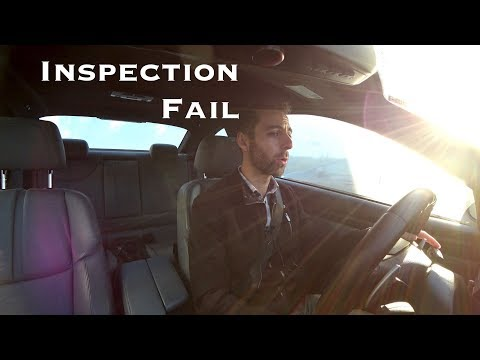 Mass State Inspection Failure!!! - Morning Commute