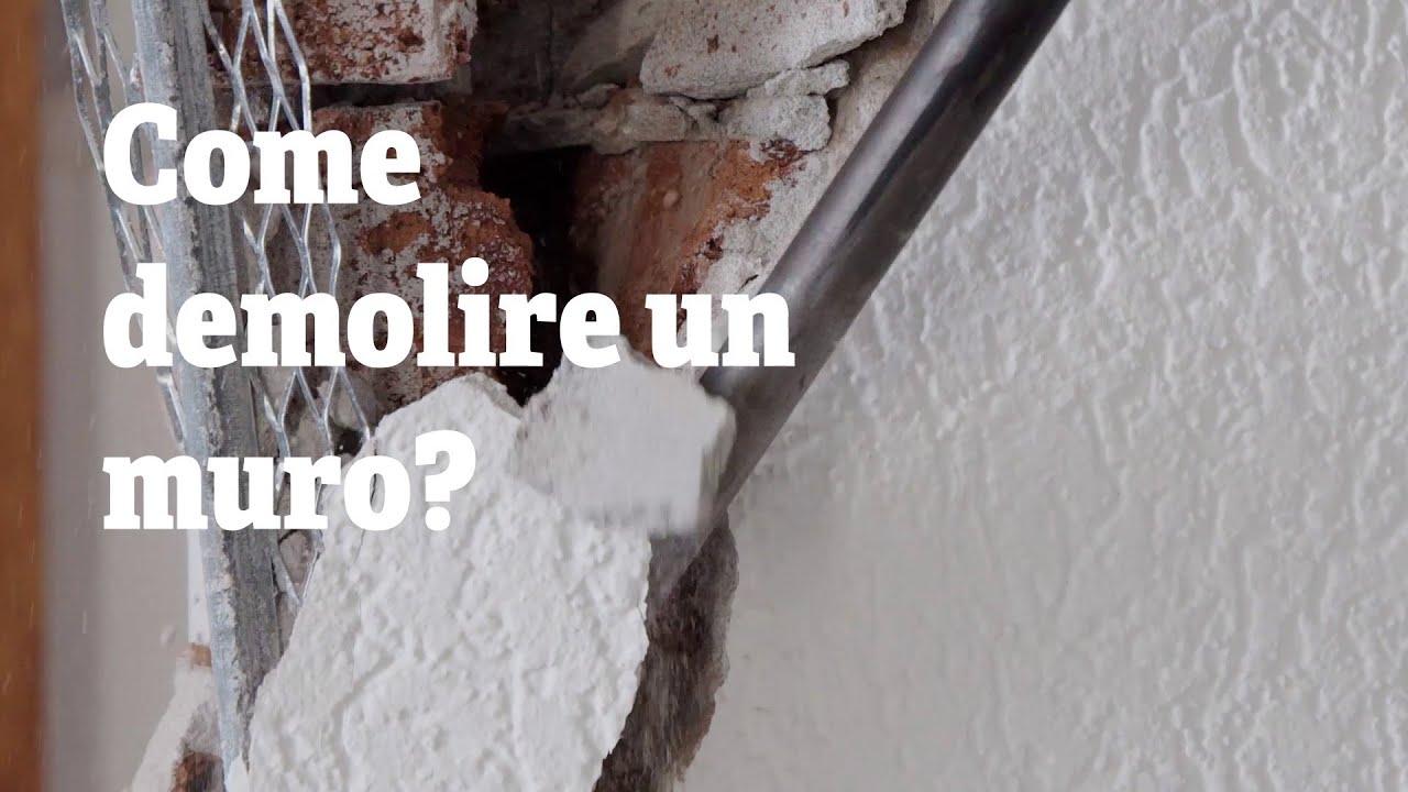 Come Abbattere Un Muro demolire un muro - come demolire un muro? | rentsetgo