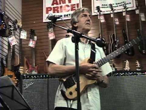 Allan Holdsworth - Sam Ash Music 2005 Clinic Part Three