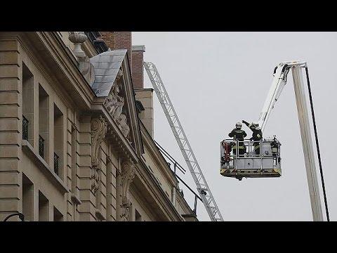 Paris Ritz Otel'de Korkutan Yangın