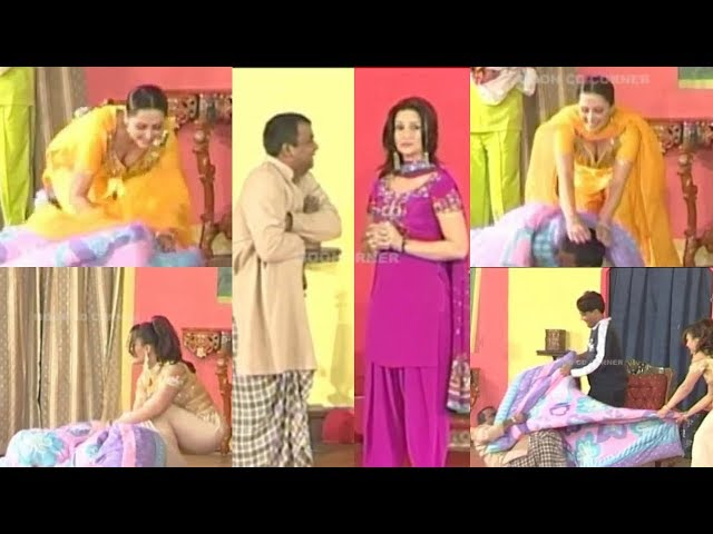 Razayi Wich aa | Best of Tahir Anjum | Nargis | Naseem Vicky - Comedy Stage Drama Clip