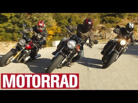 Retro Nekds From Japan Honda CB 1100 RS Vs Kawasaki Z 900 Yamaha XSR MOTORRAD