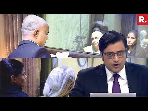 Kulbhushan Jadhav Meets Family In Pakistan | The Debate With Arnab Goswami