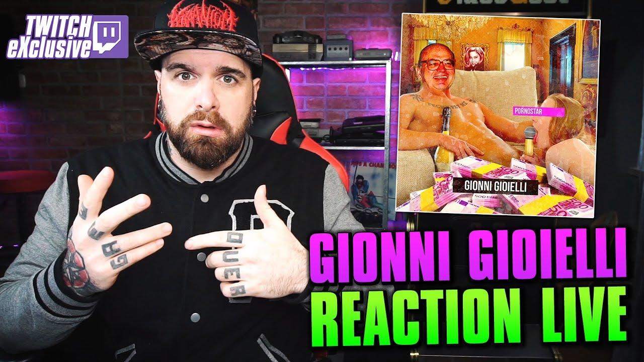 Gionni Gioielli -  P0RNST4R ! * REACTION LIVE * Arcade Boyz