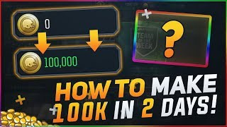 MAKE 100,000 COINS in 2 DAYS! EASY u0026 FREE! MADDEN OVERDRIVE