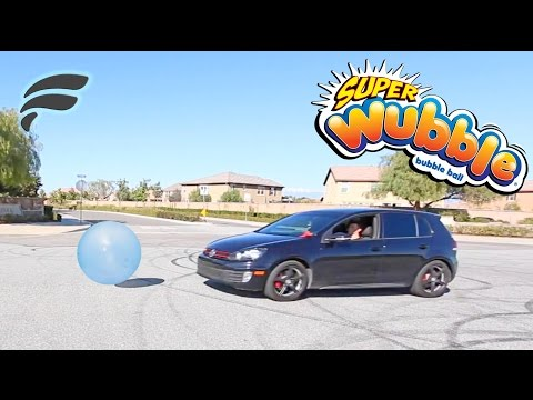 100MPH CAR VS WUBBLE BUBBLE