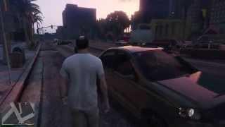 Работа службы спасения 911 в Grand Theft Auto 5 (PS4)(Вызвал службу спасения - в итоге меня еще и виноватым сделали. Действительно,