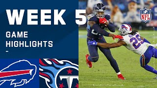 Bills vs. Titans Week 5 Highlights | NFL 2020