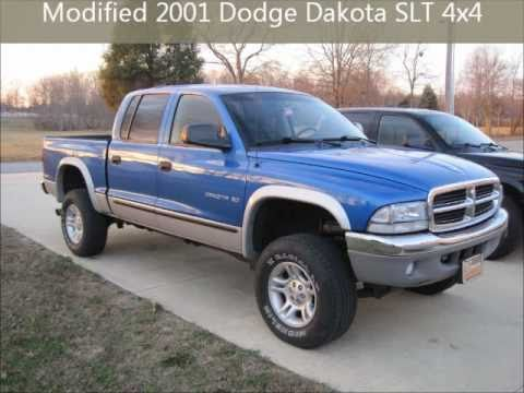 2001 Dodge Dakota Slt 4x4 Modifications Youtube