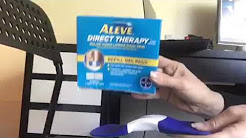 aleve direct therapy tens device