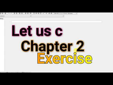 Let Us C Chapter 2 Exercise Solutions