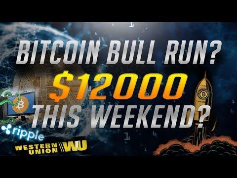 Bitcoin Bull Run? Ripple partnering with Western Union - $115 Million BTC Scam - CryptoCurrency News