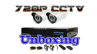 MvPower 720p Home CCTV System DVR Unboxing and install SSD Hard Drive