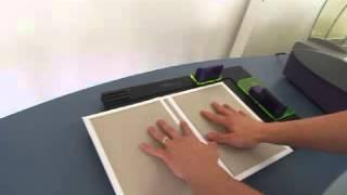 Fastback 20E   vazba do tvrdých desek s použitím lepícího hřbetu Super nebo CP