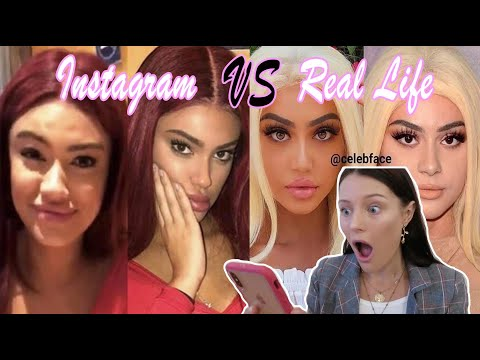 REACTING TO INSTA MODELS IN REAL LIFE