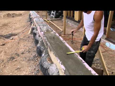 How To Build An Earthships Front Face