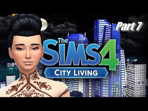 The Sims 4 City Living//Part 7 - NEW APARTMENT & FURNISHING IT