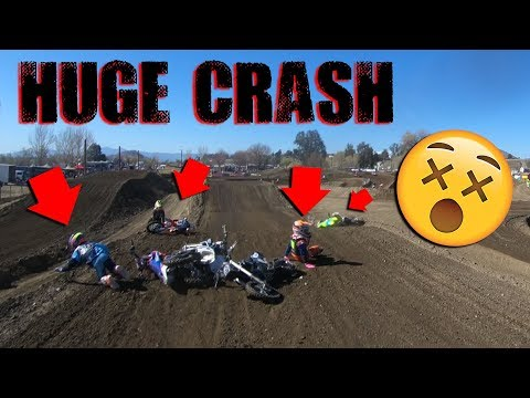 INSANE DIRT BIKE CRASH KIDS EVERYWHERE