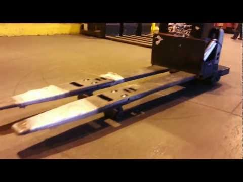 Heavy Equipment Inspection | Crown PE-4000-80 Double Jack