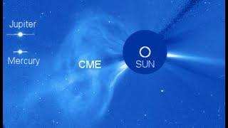 "BREAKING: "" Powerful CME Release Toward Jupiter & Mercury"""
