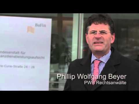PWB Rechtsanwälte bereiten Staatshaftungsklagen in Sachen Phoenix Kapitaldienst vor / Bundesanstalt für Finanzdienstleistungsaufsicht (BaFin) verweigert Akteneinsicht