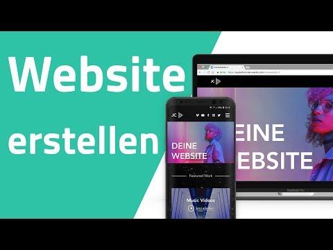 Eigene Website kostenlos erstellen ohne Vorkenntnisse (Tutorial Deutsch)