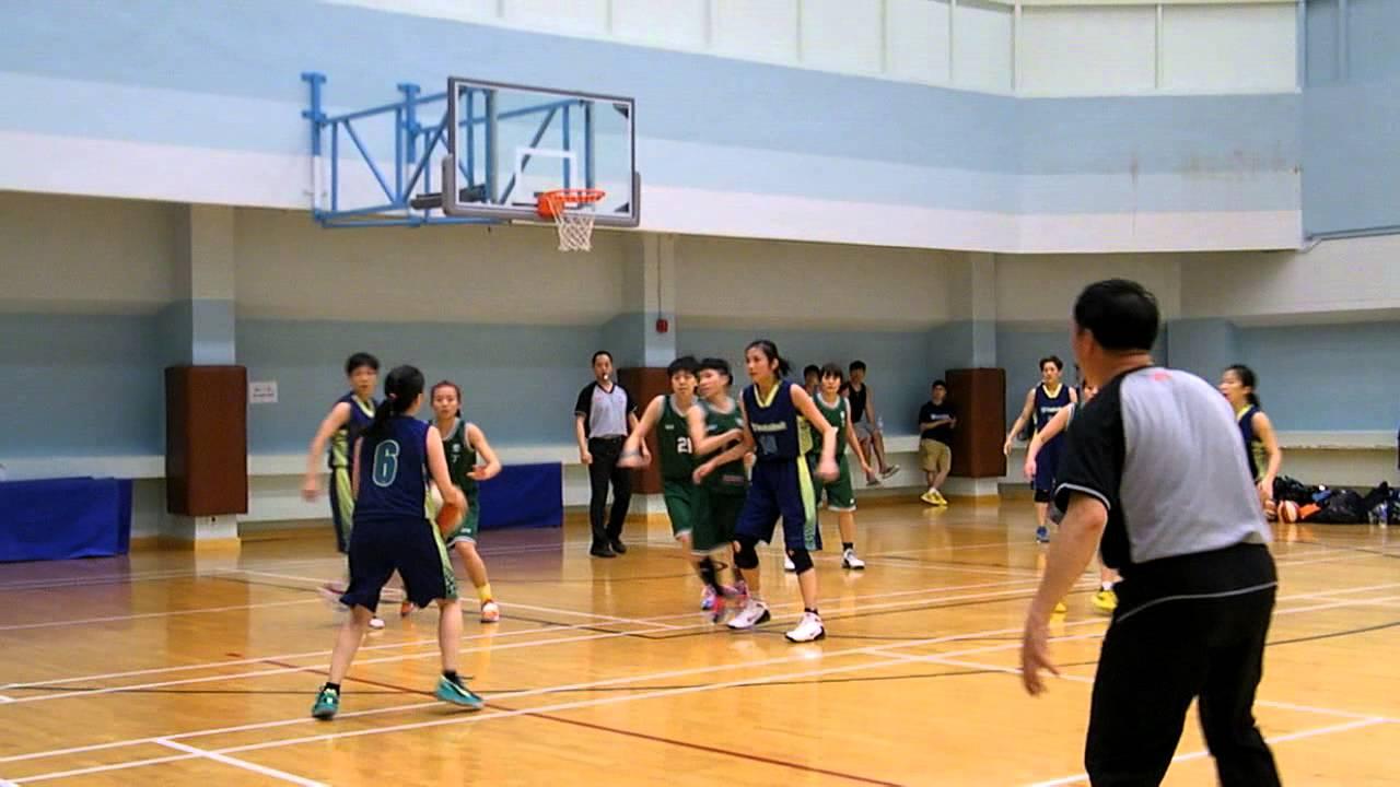 2013年香港籃球聯賽 (女乙) 墾丁 vs 群青 - YouTube