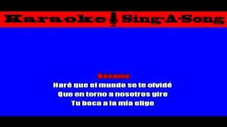 KARAOKE Victor Manuelle - Si Tu Me Besas
