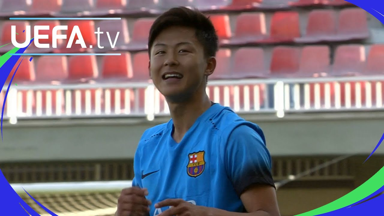 barcelona prospect seungwoo lee 39 s last minute winner. Black Bedroom Furniture Sets. Home Design Ideas
