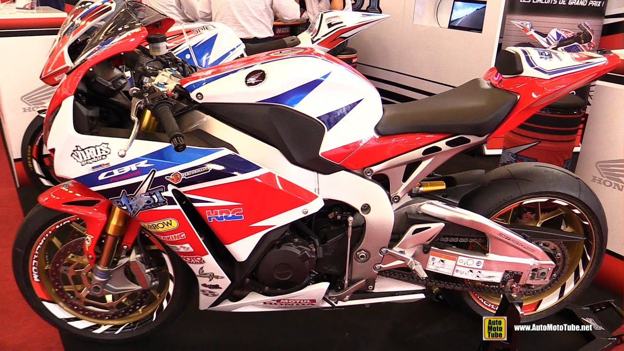 2015 Honda Cbr1000rr Fireblade Racing Bike Walkaround