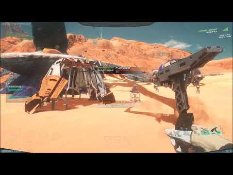 Osiris episode 1 crash landing on a barren world