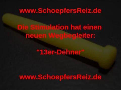 schoepfersreiz.de - 10,5/1,3 cm 13er Dehner - Urethral Sounding - Dilator