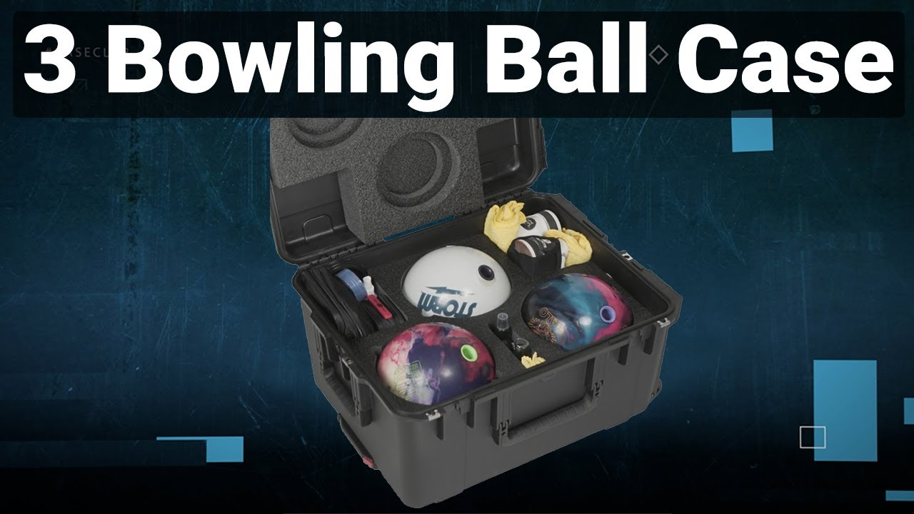 3 Bowling Ball Case - Video