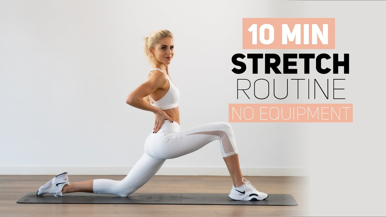 Download 10 MINUTES FULL BODY STRETCH | no equipment | Caro Daur #DAURPOWER