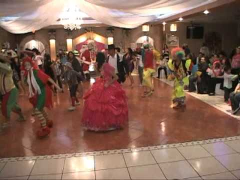 DJ ADRIAN PARTY TIME 3 QUINCEANERA SURPRISE DANCE PAYASO DEL RODEO (956)283-4502