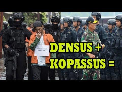 JOKOWI INGIN PASUKAN SILUMAN ANTI T3R0R TNI DIHIDUPKAN KEMBALI BANTU DENSUS 88