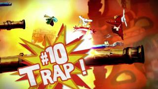 Rayman Origins: 10 Ways To Bubblize Your Enemies [North America]