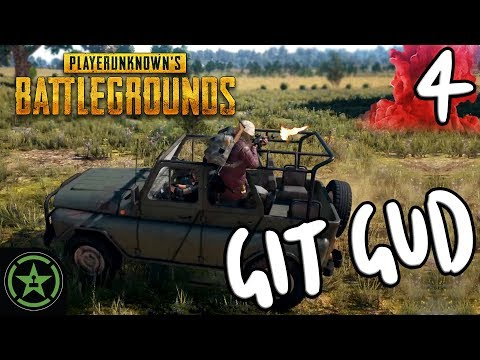 """Let's Play - PUBG: Git Gud #4 - The G Stands for """"Good"""""""