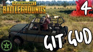 Let's Play - PUBG: Git Gud #4 - The G Stands for