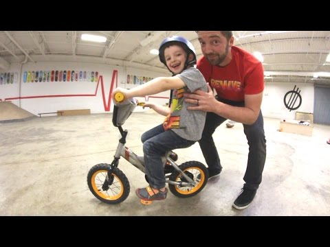FATHER SON BICYCLE TRAINING!