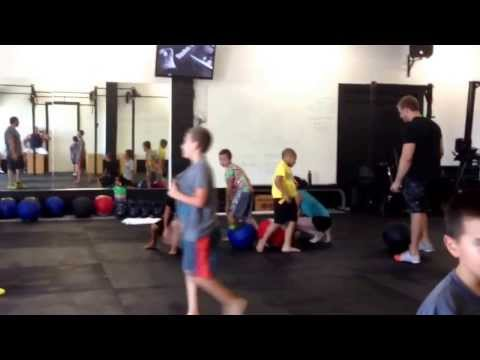 Crossfit Autonomy- first kids class