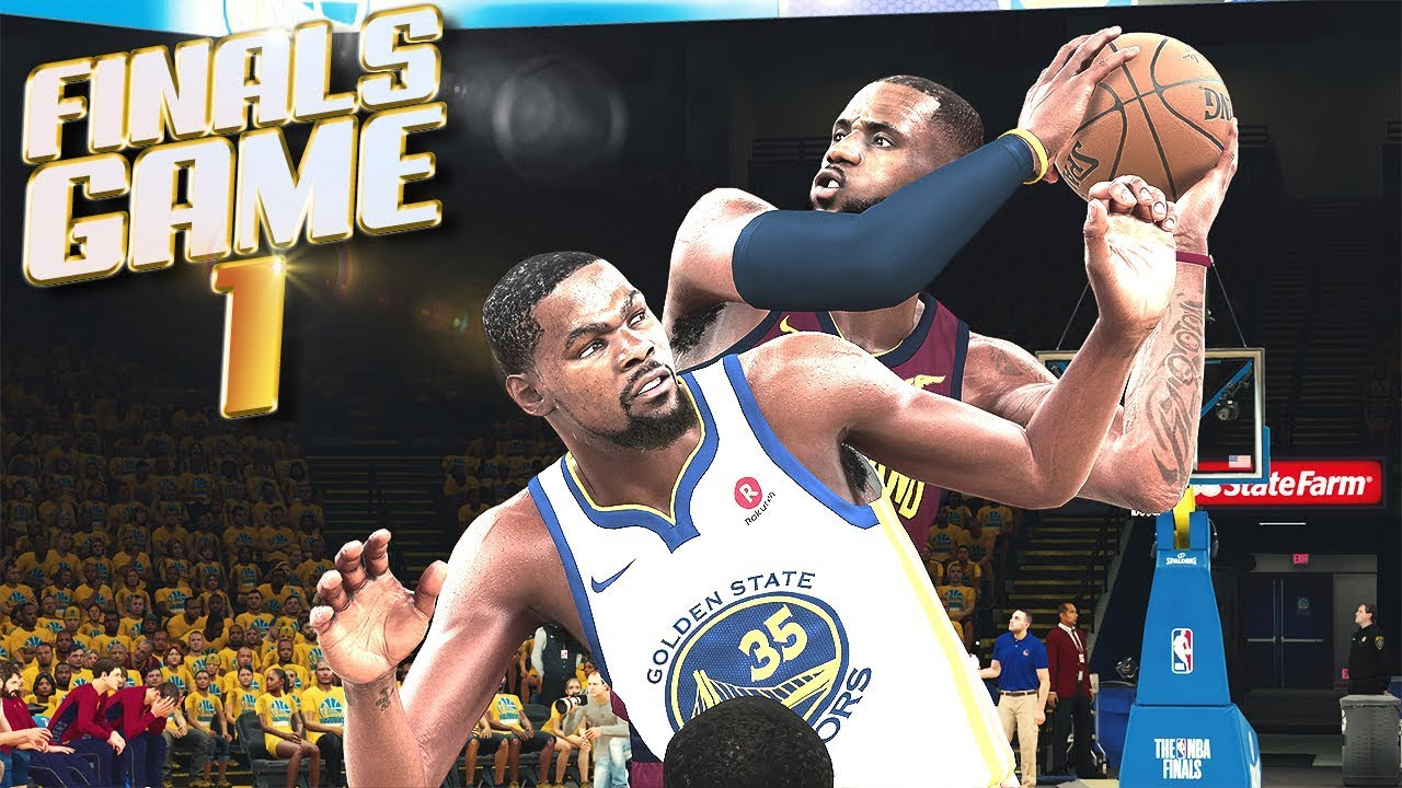 Cleveland Cavaliers vs Golden State Warriors Finals Game 1 - NBA 2K18 Prediction