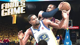 Cleveland Cavaliers vs Golden State Warriors Finals Game 1 - NBA 2K18 Prediction