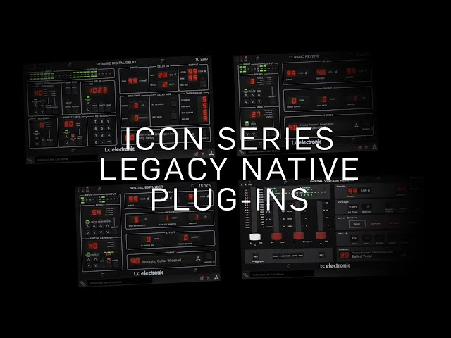 Icon Series Legacy Native Plug-Ins - Preview