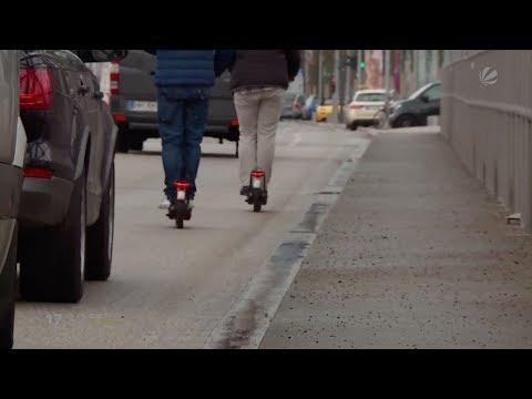 E-Scooter: Elektrische Tretroller  könnten bald zugelassen werden