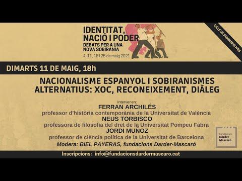 Seminari 'Identitat, nació i poder' (sessió 2)