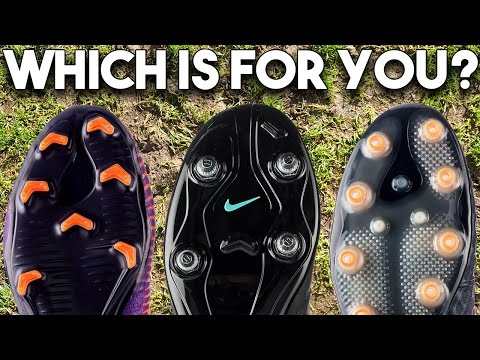a0a61a35a How To Pick The Right Boot Soleplate! FG, AG, SG-Pro Studs?? - YouTube