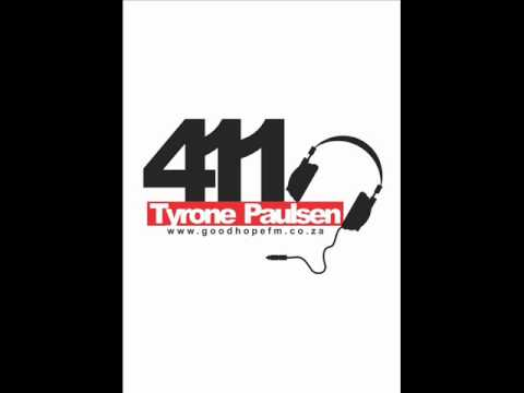 DJ Jaryd B -19 May 2012-The 411 on GoodHope FM with Tyrone Paulsen