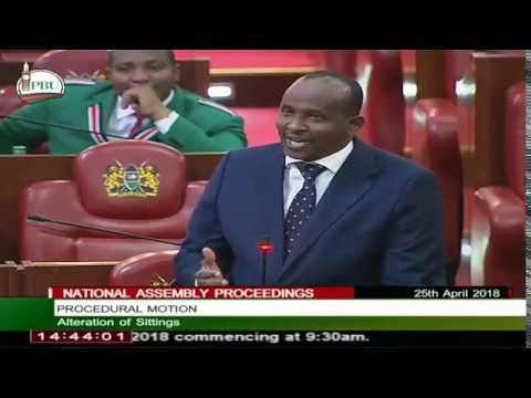 Aden Duale EMBARRASSES Kirinyaga Deputy Governor in Parliament. Listen to What He Says.